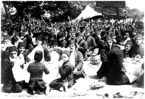 Schoolpicnic İstanbul 1908