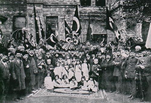 Meisjesklas İstanbul 1913